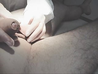 Hidden Camera Cum In Mouth Medical video: Real Medical Penis Exam turns into a Blowjob
