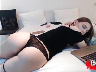 Brunette tgirl big ass balls online