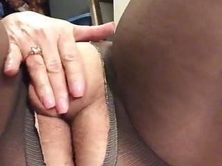Hot granny pantyhose...