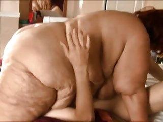 Ssbbw granny 69 with young boy...