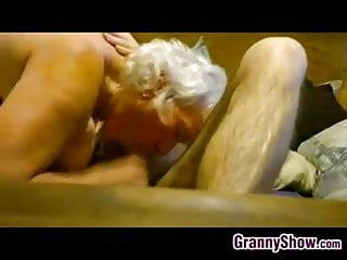 Lovers Granny Thick Riding Cock On Her