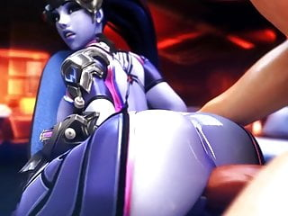 3d grandcupido widowmaker gets anal massage...