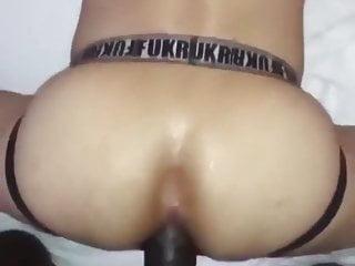 Bbc 25 cm fucks the boy