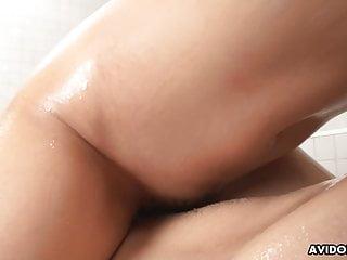 JAV masseuse Satomi Suzuki bangs males, uncensored