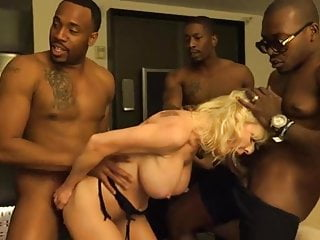 fucked Cougar big dicks of black gets a group by