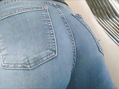 Candid Jeans Turkish Citir Ass Tramvay