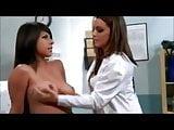 Breast touching Lesbian