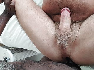 Hairy Blsck Daddy Breeds My Hole