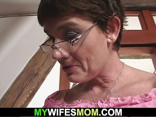 Son in law fucks her old hairy gets...