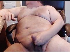 Daddy bear cum