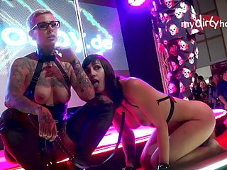 at show LiaLeone Cat-Coxx MyDirtyHobby - with Venus lesbian