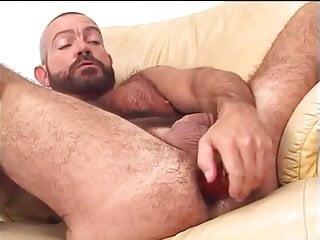 Hot Scott enjoy to plat with dildo