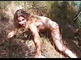 Calia naked by the lake  FM14