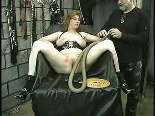 Bound by ropes lashed hard...