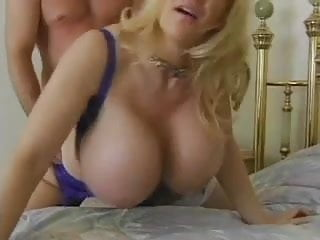Boobtown.Extreme - Blond Mom With Mega boobs Fucke