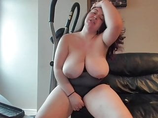 Sexy big boob Romanian striping