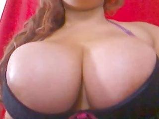 Big Tit Latina Sucking Dildo Sensually