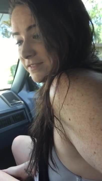 Amateur Car Blowjob Blonde Bbc