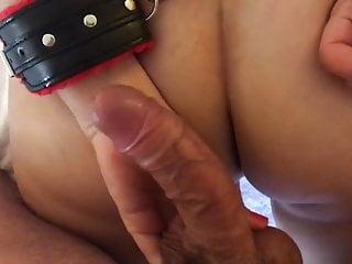 Slut fingering bondage...