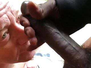 Off a big black cock...