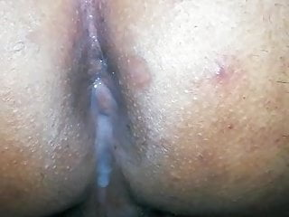 Srilankan squirting creampied ass