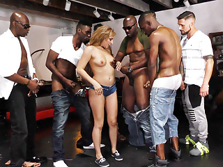 The Swinger Experience Presents Gangbang My Fiancee! – Moka Mora