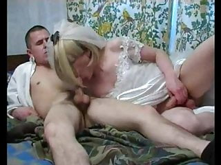 Here comes the sissy trap boy bride fucked...