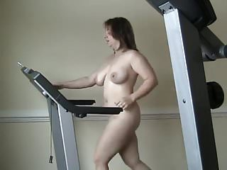 Treadmill hot amateur nude