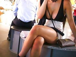 OMG Sexy Asian Teen Squeezes Her Unbelievable Big Boobs