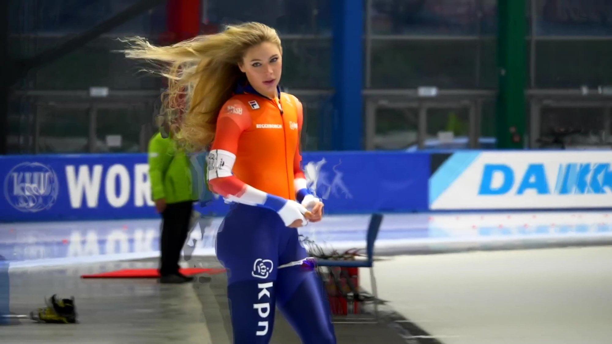 Sexy Dutch speed skater 60 fps
