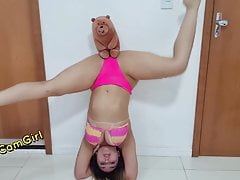 Hot Cam Girl - Takes so Sexy Video Before in bed