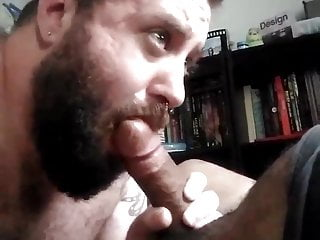 Playing with a friend's cock
