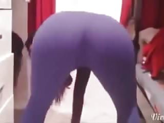 Best russian girl big booty dance 2016...