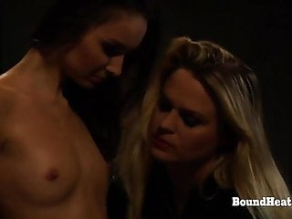 Young Cargo: Betrayed Chains Slave Lesbian Busty Whipped  In