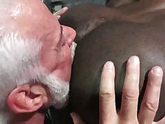 Mature Bear and Black Man