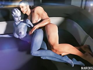 Game character gets pussy drilled deeply and raw