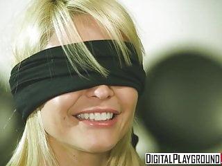 Monique Alexander gets blindfolded and pounded hard