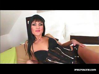Sexy milf sarah twain gets anal fucking...