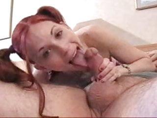 Trick two girls blowjob...