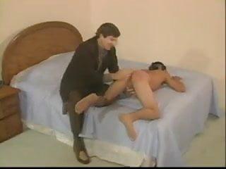 Mexican crimial gang banger gets spanked...