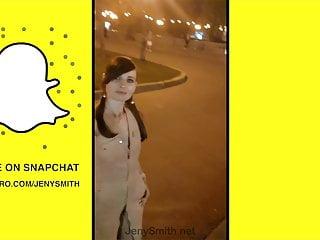 Jeny Smith Snapchat compilation – Public flashing and naked