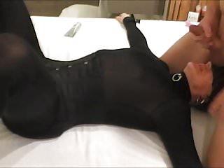 ballsucking and mouthcumming - hotel date 6