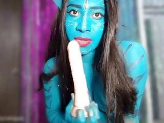 cosplay girl gives sloppy deepthroat blowjob