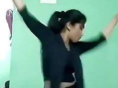 Ajina Menon Sexy Black Frock Tik Tok Actress 1
