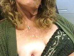 imaging hard cock rubbing on nipples