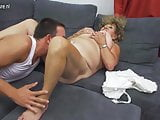 Mature BBW mom fucking and sucking not her son