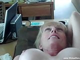 Blowjob And Cumshot From Sexy Amateur Granny Swinger