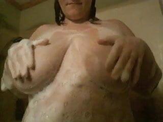 Soapy Wet Boob Rub