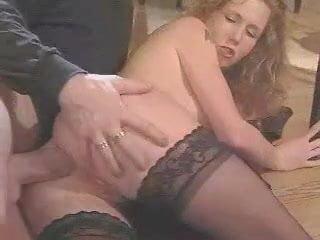 Redhead German - two threesomes