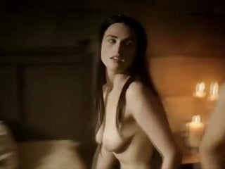 Katie McGrath gets pounded